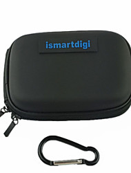 ismartdigi CC-2 EVA Camera Case with(Metals Buckle)For D.Camera Mini DV Sony Samsung Canon Nikon Pentax(Black/Blue)