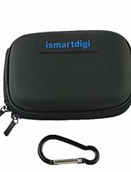 ismartdigi cc-2 eva Kameragehäuse mit (Metall Schnalle) für d.camera mini dv Sony Samsung canon nikon pentax (schwarz / blau)