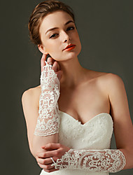 Elbow Length Fingerless Glove Nylon Bridal Gloves / Party/ Evening Gloves