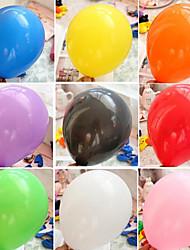 10 pulgadas globo de la decoración de la boda 100pcs / set