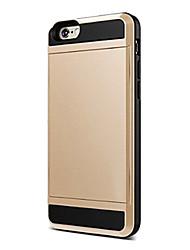 роскошный бумажник телефон случае для Iphone 6с 6 плюс