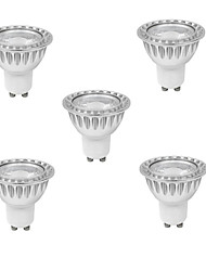 10W GU10 Spot LED MR16 1 COB 400 lm Blanc Chaud / Blanc Froid Gradable AC 100-240 V