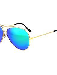 Sunglasses Unisex's Classic Polarized Hiking Gold Sunglasses Full-Rim