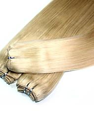 Tissages de cheveux humains Cheveux Brésiliens Droit 6 Mois 3 Pièces tissages de cheveux