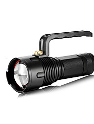 Sharp Eagle® LED Flashlights/Torch LED 1400 Lumens 3 Mode Cree XM-L2 T6 18650 / 26650Adjustable Focus / Waterproof / Rechargeable /