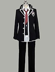 Inspiriert von Blue Exorcist Rin Okumura Anime Cosplay Kostüme Cosplay Kostüme Patchwork Schwarz Lange ÄrmelMantel / Shirt / Hosen /