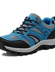 Men's Hiking Shoes Leather / Running Shoes Leather / Upstream shoes / Water Shoes/ Tulle Blue / Gray