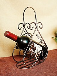 Grape Vine Leaves Display Rack Wine Rack Dining Table Home Decoration