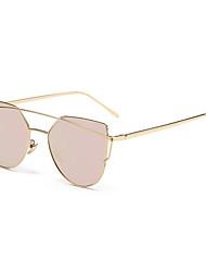Sunglasses Unisex's Classic Anti-Reflective Hiking Gold Sunglasses Full-Rim