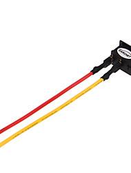 5 * / 125V 10a 2 interruptor de pin carchet ac 250v 6a na ficha do conector interruptor de balancim / off de dois fios