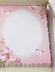 1PC Pink Roses Pad Of Creative Gift Message Post-It Notes(Style random)