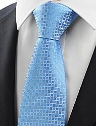 Gravata(Azul,Poliéster)Quadriculado