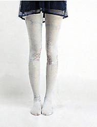 Sweet Lolita Socks & Stockings Pink / Sky blue / MultiColor Nylon Lolita Accessories