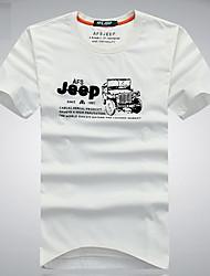 Homme Tee-shirt Camping / Randonnée / Escalade / Sport de détente / Cyclisme/Vélo / Course/Running Respirable / Anti-transpiration Eté
