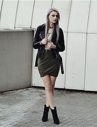 Damen Hose  -  Sexy Kurze Hose Polyester Mikro-elastisch