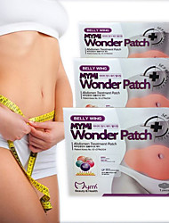 Belly Wing Abdomen Treatment Body Diet Patch _5 Patches
