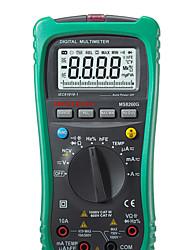mastech ms8260g 40m (ω) 1000 (v) 20 (a) professinal multímetros digitales