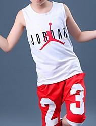 Boy's Cotton Clothing Set,Summer Print