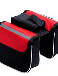 Велосумка/бардачок 2LБардачок на раму Светоотражающая лента / Защита от пыли / Пригодно для носки / Многофункциональный / 3 В 1