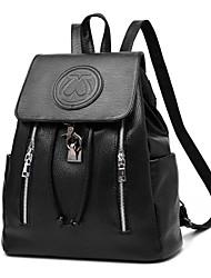 Casual Outdoor Shopping Shoulder Bag Backpack School Bag Women PU Multi-color