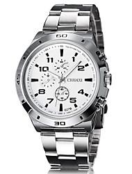 Men's Dress Watch Sport Quartz Analog Wrist Watch Stainless Steel Band Fashion Watch(Assorted Color) Cool Watch Unique Watch