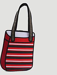 Bolsa de Ombro / Tote / Satchel / Clutch / Bolsa de Pulso / Nécessaire / Bolsa Para Notebook-Feminino-Mini Bolsa-Roxo / Vermelho-Náilon