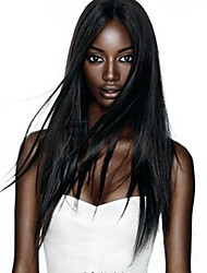 """8 """"-26"""" peluca llena del cordón de la peluca recta del pelo virginal brasileño&encajes frente peluca multicolor opcional con el pelo"""