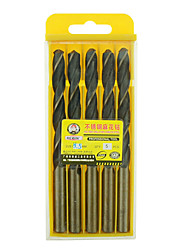 REWIN® TOOL Stainless Steel Cobalt-containing Twist Drill Diameter:8.5mm With 5pcs/box