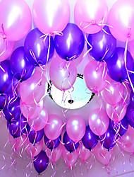 10 Zoll Hochzeitsdeko Latexballon 100pcs / set