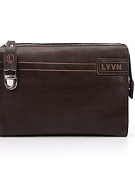 Men Other Leather Type Formal Clutch / Evening Bag Brown