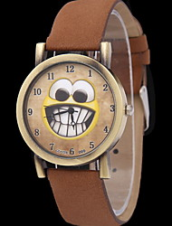 Women's  Retro Smiley Face Quartz Watch Cool Watches Unique Watches