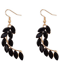 Exotic Beads Simple Personality Wheat Shaped Earrings