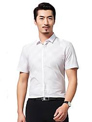 Sieben Brand® Herren Hemdkragen Kurze Ärmel Shirt & Bluse Lila-704A3E0563