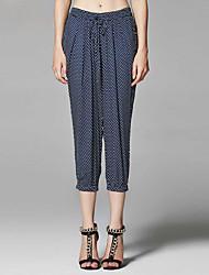 ZigZag® Da donna A vita medio-alta Culotte Blu Casual Pantaloni - 11259