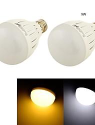 9W E26/E27 Круглые LED лампы B 18 SMD 5730 850 lm Тёплый белый / Холодный белый Декоративная AC 85-265 / AC 220-240 / AC 110-130 V 2 шт.