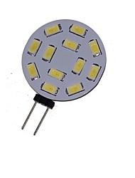 6W G4 Spot LED MR11 12 SMD 5730 450-550 lm Blanc Chaud / Blanc Froid Décorative DC 12 / AC 12 / AC 24 / DC 24 V 1 pièce