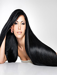 "3Pcs/Lot 8""-34"" Brazilian Virgin Straight Hair Extensions 100% Unprocessed Virgin Human Hair Weaves"