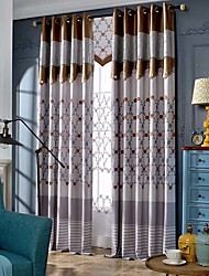 winter curtains shade cortinas Three-dimensional embroidery flower top curtains for living room fabric no valance