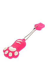 16GB Cute Dog Paw Резиновая USB Flash Drive