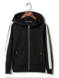 Men's Long Sleeve Jacket,Cotton Sport Color Block