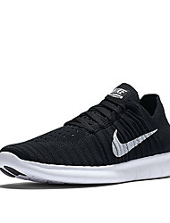 Nike Free RN Flyknit 5.0 Men's Running Shoes Trainers Sneakers Shoes Black Gray Orange White