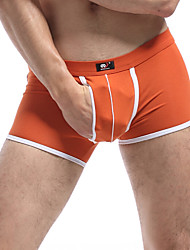Men's Sexy Cotton Boxer Briefs Underwear Men's Lingerie