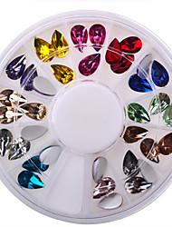 1-Bijoux pour ongles-Doigt- enAdorable / Mariage-6*6*1