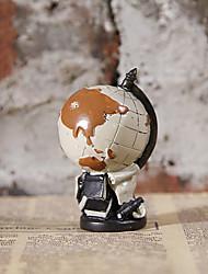 смолы ремесленных американских ретро глобус творческий дом статьи обеспечения