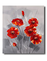 50*60CM Hand Painted Oil Painting Floral Flower with Frame