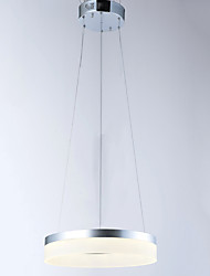 Round Pendant Light Ceiling Lamp Fixtures with LED Source 9W AC100 to 240V CE FCC ROHS