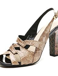 Aokang® Women's Leather Sandals - 132818008