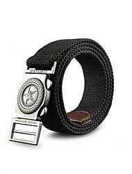Mens Canvas Belt Cintos Cummerbund Buckle Waist Strap Belts For Men