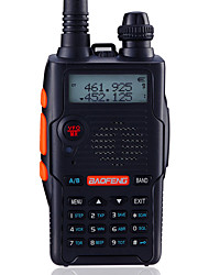 BAOFENG UV-5R5TH-BLK Walkie Talkie 5W/1W 128 136-174MHz / 400-520MHz 1800mAh 1.5 km -3 kmFM Radio / Sprachansage / Dual - Band / Dual -