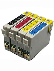 bloom®t0711-T0714 compatibele inkt cartridge voor epson D78 / D92 / D120 / DX4000 / dx4050 / DX5000 / dx8400 vol inkt (4 kleuren 1 set)